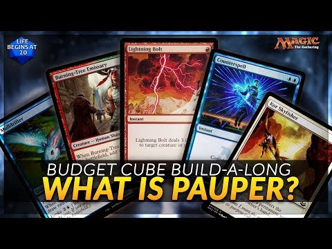 Introduction to Pauper - The Perfect Budget Format for MTG Cube?