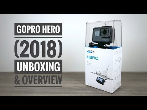 New GoPro Hero (2018) Unboxing and Overview