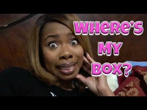 WHERE IN THE WORLD IS MY BOX?