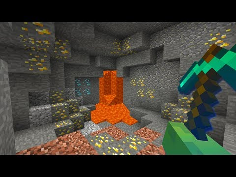 How to FIND GOLD in Minecraft! (United UHC)