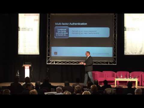 Modern Multi-factor Authentication in a world of evil - David Hald, SMS Passcode