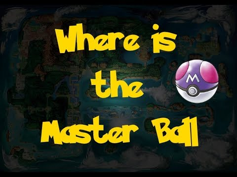 Where Is: The Master Ball (Pokemon Alpha Sapphire/Omega Ruby)