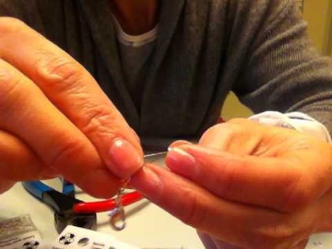 How To Make A Bead Bracelet With A Lobster Clasp, Crimps, Open Circles and Wire Protector
