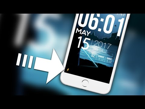 iOS 10 Tweaks: QuickFlash - Just Tap The Flash Button On The Lock Screen To Toggle Your Flashlight