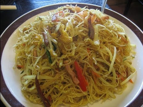 Recipe - Rice Flour Noodles Recipe With English Subtitles