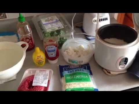 93% Lean Ground Beef & Jasmine Rice / Dieting Tips