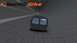 BeamNG drive - VAN VS TÚNEL.