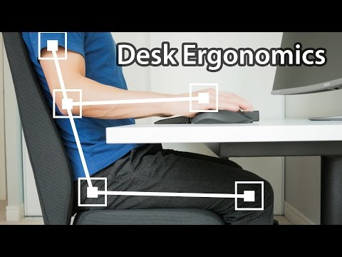 5 Ways You're Sitting Wrong at Your Desk - Computer Desk Setup Ergonomics