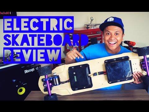 ELECTRIC ⚡ SKATEBOARD REVIEW - 33 MPH!!!