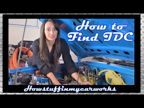 How to find Top Dead Center TDC when you remove and install a Distributor or unplug Spark Plug Wires