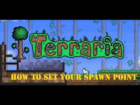 Terraria - How to: Set Spawn Point