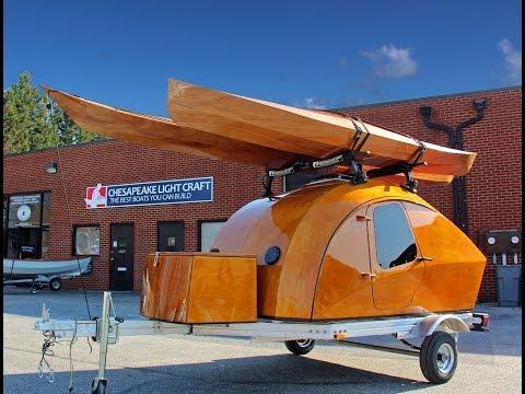 Teardrop Camper Kit by Chesapeake Light Craft - HD 1080p