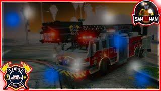 GTA V FiveM | Fire/EMS | New Medic | Crazy Callouts