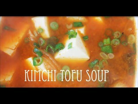 Simplified Kimchi Tofu Soup | Soondubu Jjigae | Quick Eats | Vegetarian Stew