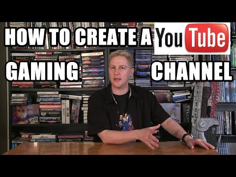 HOW TO CREATE A YOUTUBE GAMING CHANNEL - Happy Console Gamer