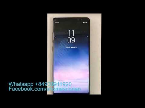 Unlock network Samsung Galaxy Note 8 Sprint N950U permanently