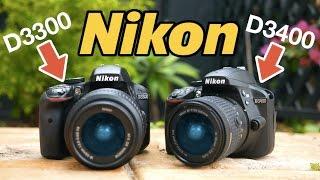 Nikon D3400 vs Nikon D3300 - Best DSLR Camera Under $500