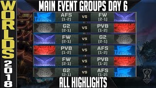 Download Worlds 2018 Day 6 Highlights ALL GAMES Main Event Video