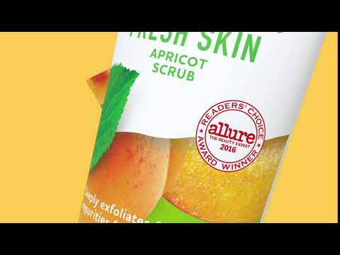 Get That Deep Clean: Allure Award Winning Apricot Face Scrub  | St. Ives