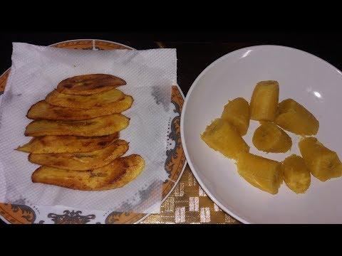 Boiled Ripe Plantains VS Fried Ripe Plantains