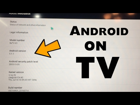 How To Run Android OS On Your TV