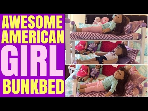 Setting Up Bunkbed for American Girl Doll
