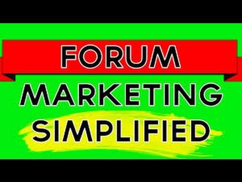 Make CLICKBANK Sales Using Forum Marketing | Tutorial Part 1