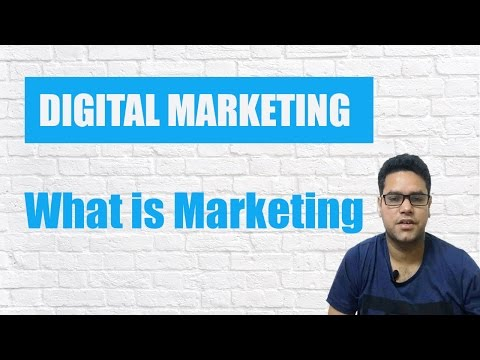What is Marketing - Marketing in Detail