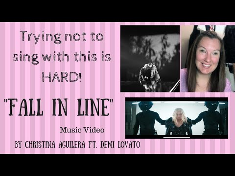 Whitney Reacts: Fall in Line (Music Video)