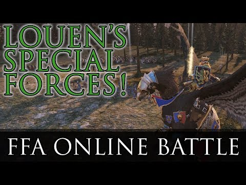 LOUEN'S SPECIAL FORCES! - Free-for-All Online Battle | Total War