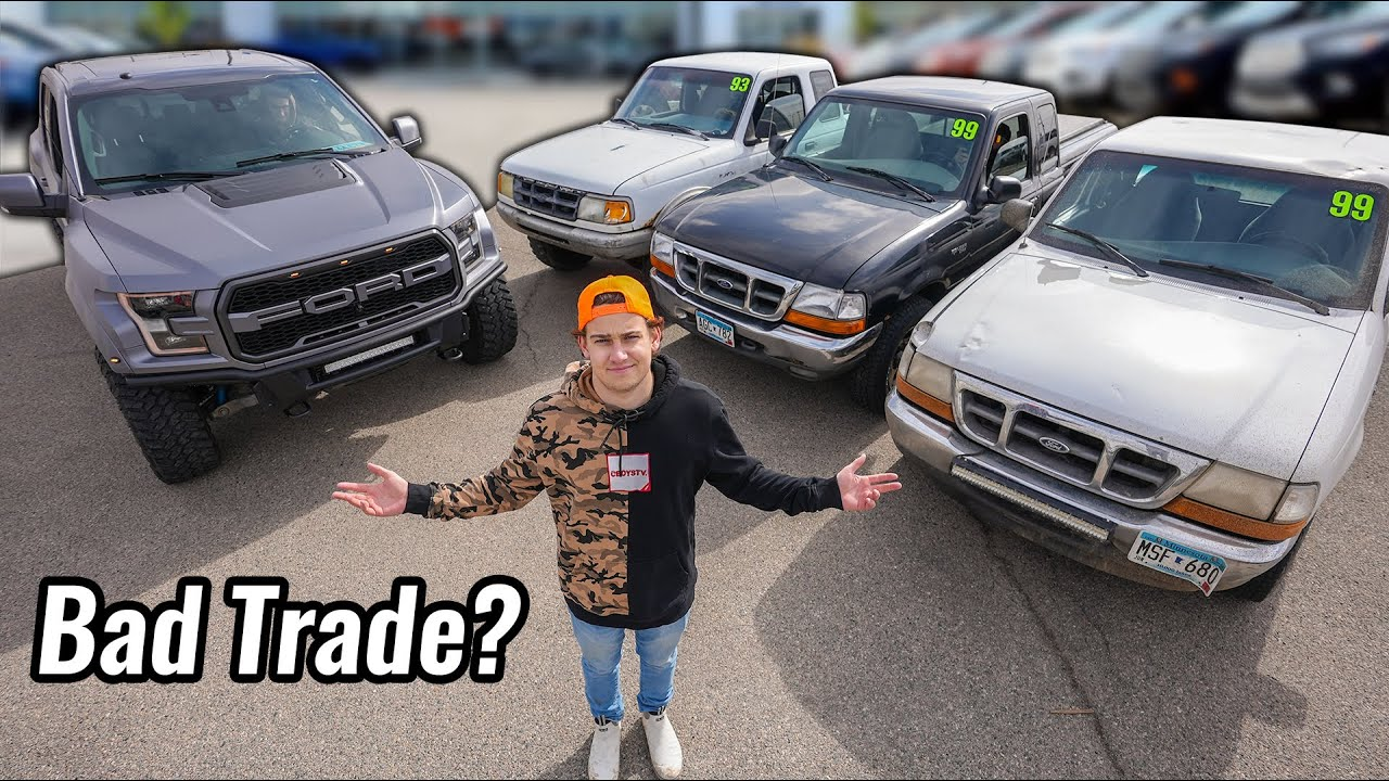 Trading in my Raptor for 4 Ford Rangers (Worst Trade Ever)