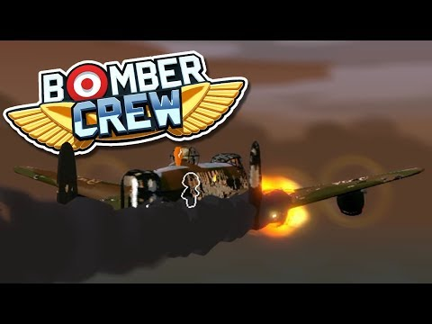 BARELY MADE IT! Bomber Crew - FTL-like crew management gameplay