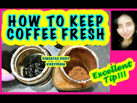 How to Store Coffee Powder | How to Keep Coffee Fresh for Months | Keep Instant Coffee Lump Free