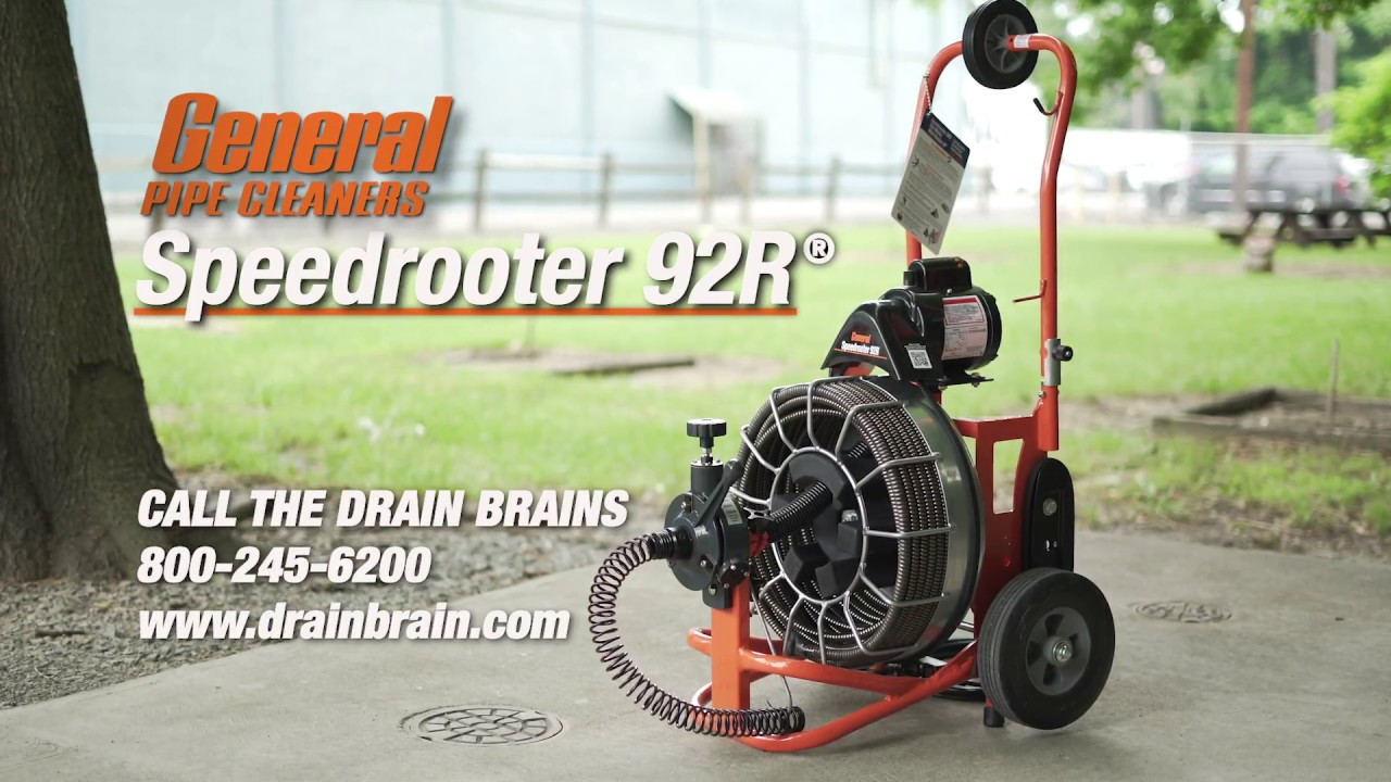 Speedrooter 92R Instructional Video