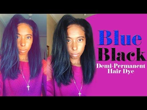 Demi-Permanent Midnight Blue Black | Tutorial | Ion Color Brilliance