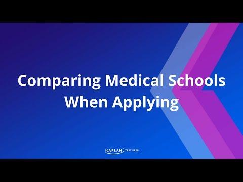 Comparing Medical Schools