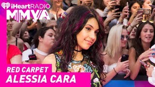 Alessia Cara Cannot Believe That She is Back on the iHeartRadio MMVA RedCarpet