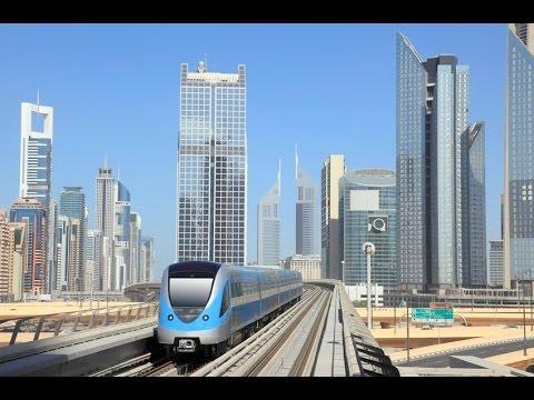 Dubai Metro Train (Sharaf DG - Nakheel Harbour)