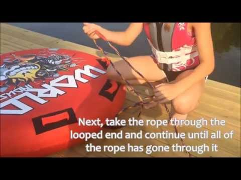 How To safely Tube behind a Jet Ski