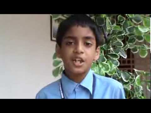 Mother Earth - Intersting Speech by a small  Boy