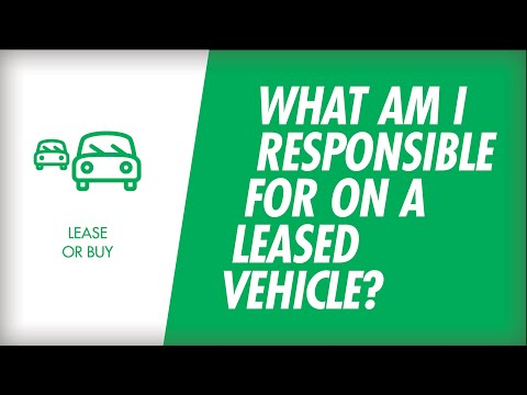 What am I Responsible for on a Leased Vehicle?