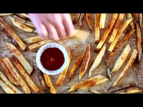 Crispy Baked Oven French Fries