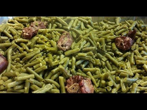 Turkey & Pork String Beans