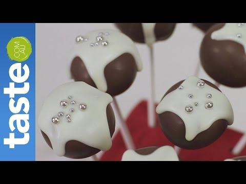 How to make Christmas cake pops