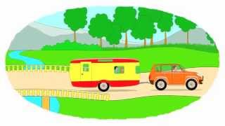 Das Zeichentrick Malbuch Ungewöhnliche Traktoren Teil 1