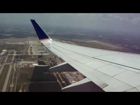 Takeoff from Houston Bush Intercontinental Airport (IAH/KIAH) 2009-06