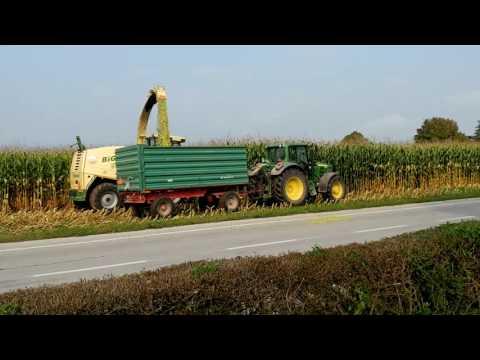 Komenda Corn Silage Harvest 2016 part 1 - Grunt