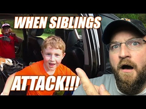 Family Camping Chaos and Sibling Rivalry - The Average Fam Camping Vlogs