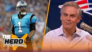 Colin reacts to Patriots signing Cam Newton and gives realistic expectations   NFL   THE HERD