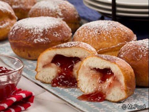 Homemade Jelly Donuts